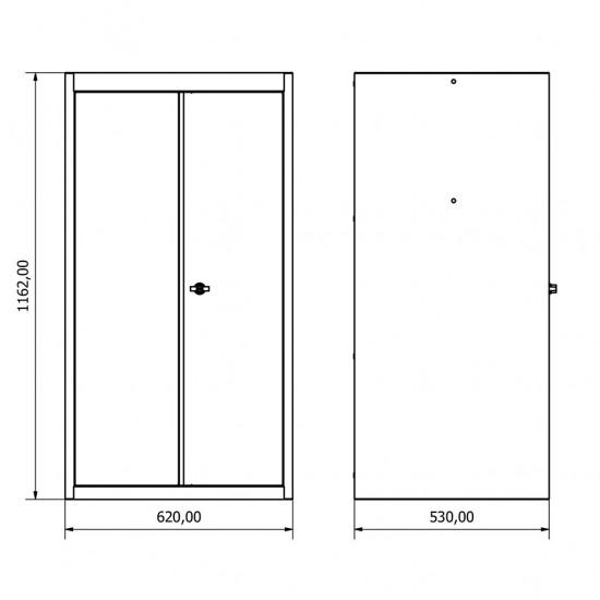 36.18.30.21 Kapaklı Dolap , çekmeceli. çekmeceli dolap , modüler , takım tezgahı , tezgah , dolap , modül